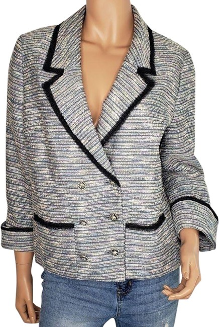 Anthropologie Multi-color Coquille Today's Special Blazer Size 12 (L) Anthropologie Multi-color Coquille Today's Special Blazer Size 12 (L) Image 1