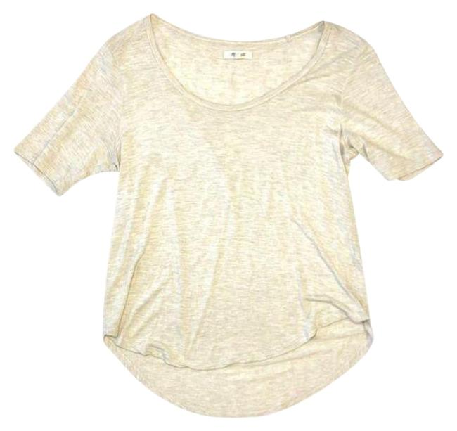 Item - Tan Beige Hi/Low Medium Tee Shirt Size 8 (M)