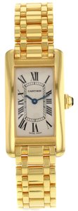 Cartier Cartier Tank Americaine W26015K2 18K Yellow Gold Quartz Ladies Watch