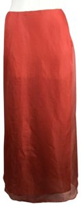 Genny Maxi Skirt Orange