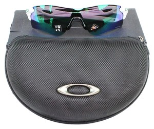 Oakley & Polished White Frame OO9206 4338 Unisex Radarlock Path Sunglasses