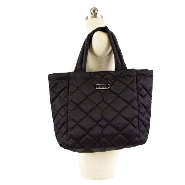 Item - Quilted Crosby Black Nylon Tote