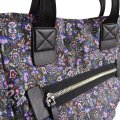 Marc Jacobs Garden Paisley Printed Biker North/South Purple Multi Nylon Tote Marc Jacobs Garden Paisley Printed Biker North/South Purple Multi Nylon Tote Image 11