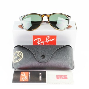 Ray-Ban & Light Havana Frame RB4171 710/71 54 Unisex Erika Classic Sunglasses