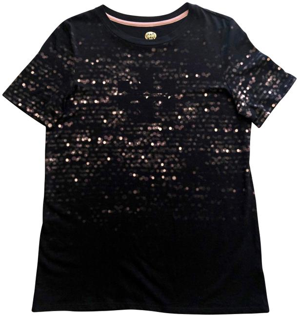 Item - Black with Pink and Tan 41152145 Tee Shirt Size 0 (XS)