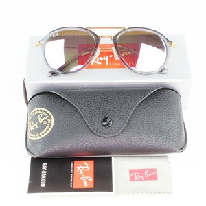 Ray-Ban Lens & Shiny Grey/Brown Frame RB4253 62377X Unisex Pilot Sunglasses