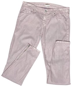 Mother Ankle Zip Skinny Jeans