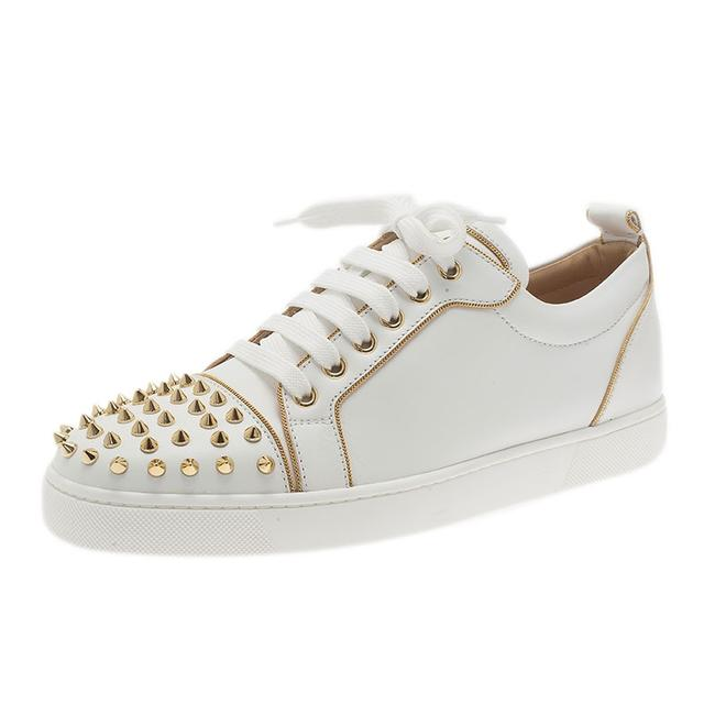 Item - White Rush Spike Sneakers Size EU 40.5 (Approx. US 10.5) Regular (M, B)