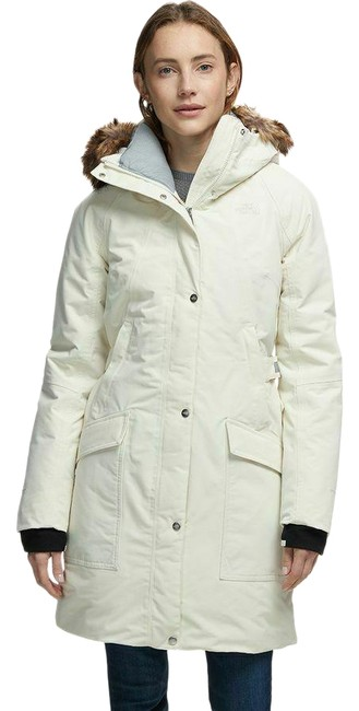 Item - White Outer Boroughs Vintage Parka Women's Coat Size 8 (M)