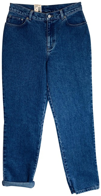 Item - Medium Blue Wash Vintage Mom High Waist Jeans/6/Nwt Relaxed Fit Jeans Size 29 (6, M)