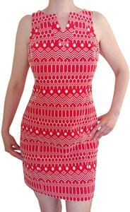 Boden short dress Red White on Tradesy