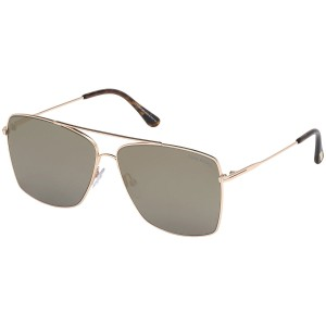 Tom Ford Magnus-02 Metallic Ft0651 28c Sunglasses