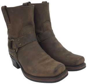 Frye 77455 Motorcycle Size 8 Riding Size 8 Brown Boots