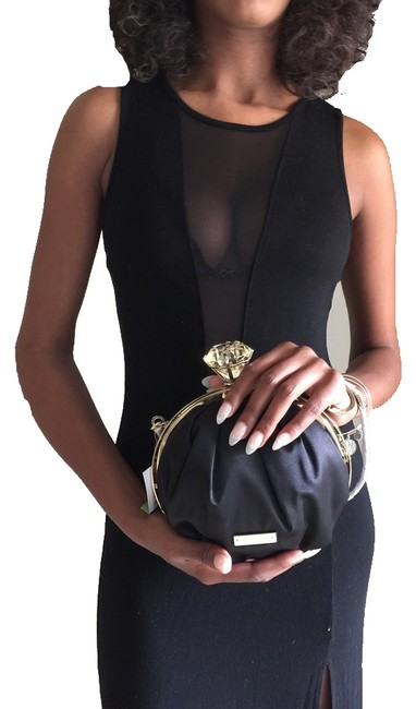 Item - Wedding Ring Belle Emina Black Silk Clutch