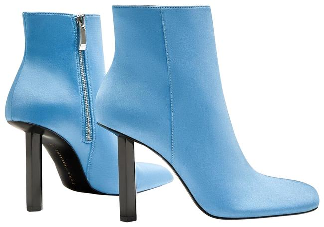 Item - Blue Favorite Sky Pin Heel Ankle *bloggers Favorite* 6/36 New Boots/Booties Size US 6 Regular (M, B)