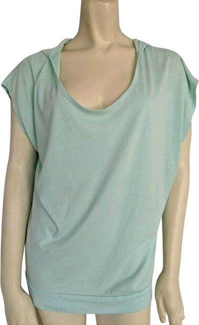 Item - Green Mint Sleeve Hoodie Loose Activewear Top Size 8 (M)