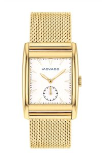 Movado Authentic MOVADO 30mm Heritage Mesh Gold ion plated Stainless watch