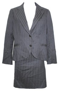 Theory Theory Striped Stretch Wool Blend Skirt Suit 8
