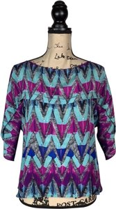 See by Chloé Top blue and purple