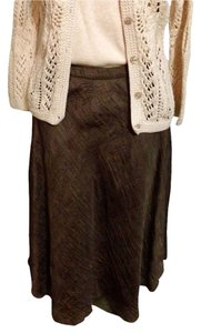 St. John Skirt Brown