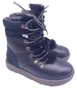 UGG Australia Leather Water-resistant Winter Black Boots