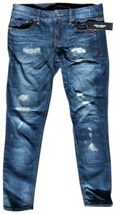 Express Skinny Jeans-Distressed