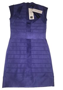 French Connection short dress Purple Exclusive Party on Tradesy