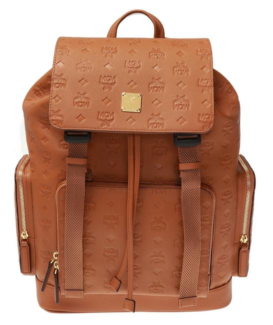 Item - Shoulder Bag Klara New Monogram Branderburg Brown Cognac Leather Backpack