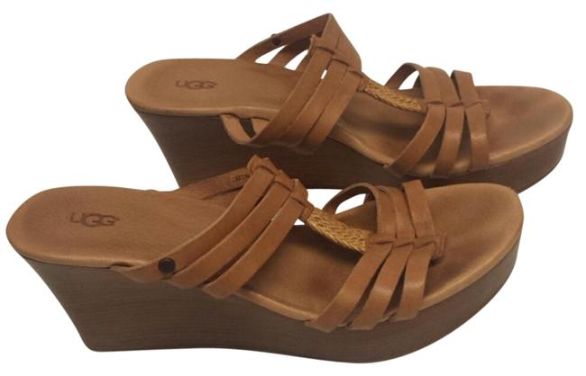 Item - Tan Soft Strap Sandals Mules/Slides Size US 8 Regular (M, B)