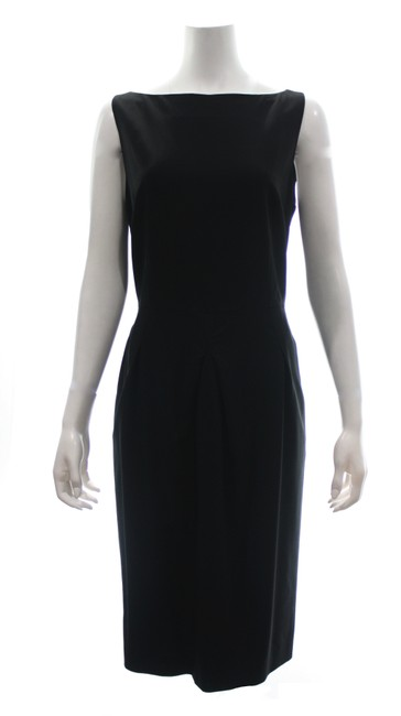 Item - Black Sleeveless Mid-length Formal Dress Size 16 (XL, Plus 0x)