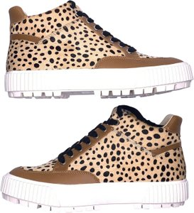 Dolce Vita Leopard Calfskin Multicolor Athletic