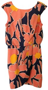 Jessica Simpson short dress Orange and Blue on Tradesy