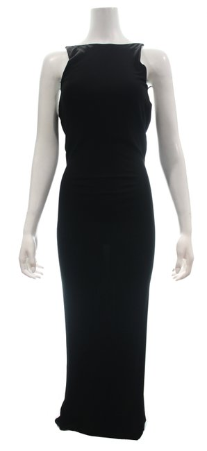 Item - Black Backless Long Night Out Dress Size 0 (XS)