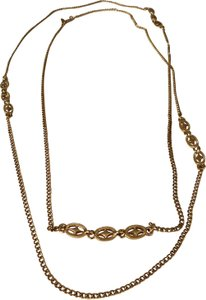 MONET Gold Tone 26 Inch Necklace