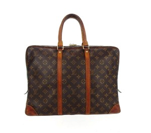 Louis Vuitton Monogram Business Briefcase Vintage Laptop Bag