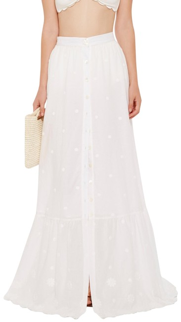 Item - Pure White Cr16-dce259 Skirt Size 8 (M, 29, 30)