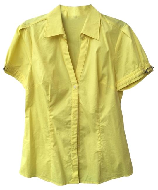 Preload https://item2.tradesy.com/images/express-yellow-button-down-top-size-4-s-2729476-0-0.jpg?width=400&height=650