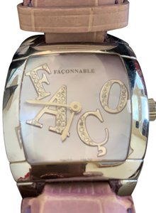 Façonnable Ladies Big Faconnable Swiss made diamond watch