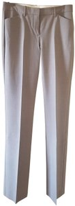 Theory Wool Classic Straight Pants Beige