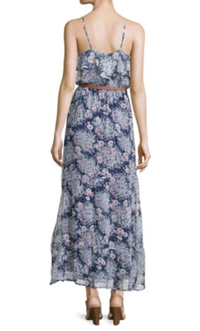 Navy Blue Maxi Dress by Joie Floral Maxi Silk