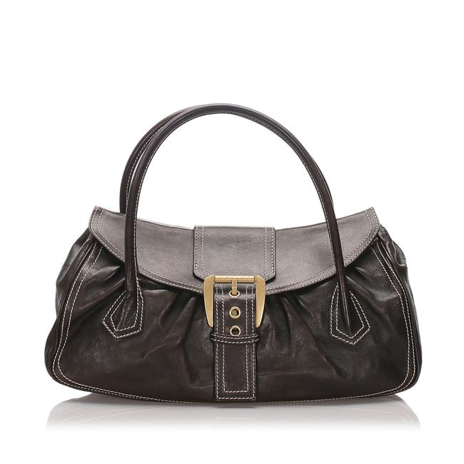 Item - Brown Leather Shoulder Bag