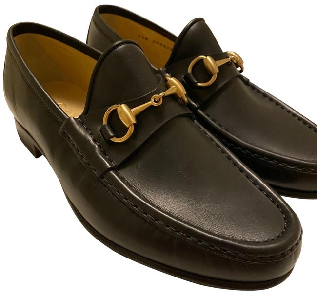 Item - Black Mocassino Formal Shoes Size US 6 Extra Wide (Ww, Ee)