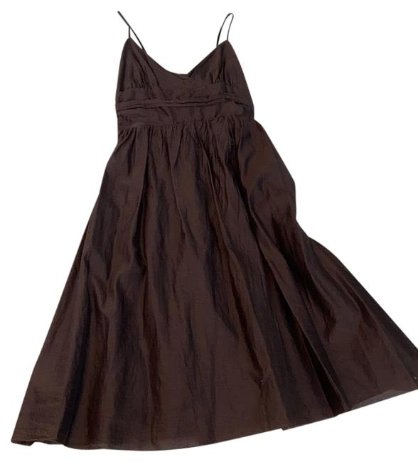 Item - Brown Summer Short Casual Dress Size 6 (S)