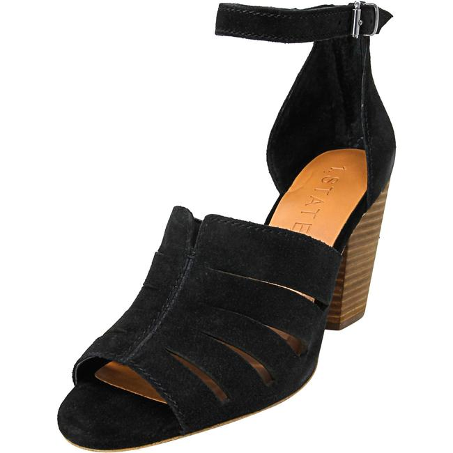 Item - Black Nallay Ankle-high Leather 8m Sandals Size US 8 Regular (M, B)