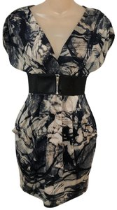 Romeo & Juliet Couture short dress Black and grays on Tradesy
