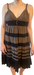 Grass Collection short dress Brown on Tradesy