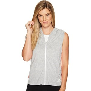 Adidas Women's Athletics Sleeveless Full Zip Hoodie