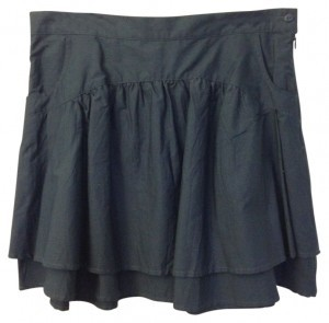 Zara Mini Skirt grey blue