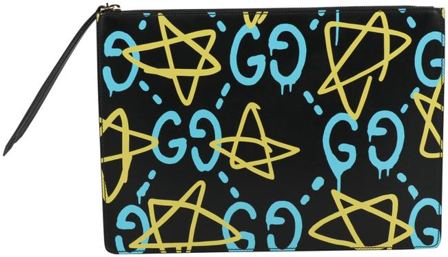 Item - Men's Ghost Multicolor Leather Messenger Bag