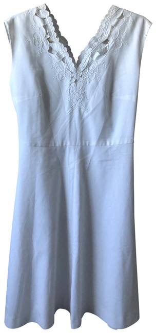 Item - Off-white Tailored Handmade Mid-length Casual Maxi Dress Size 8 (M)